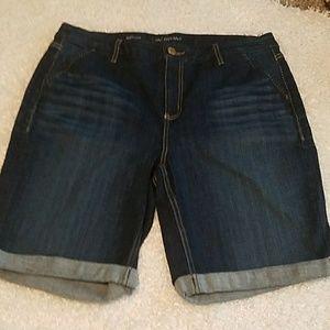 NWOT Size 18 Lane Bryant Burmuda shorts